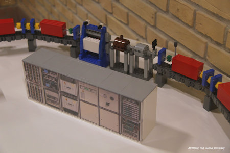 Section of the Lego ASTRID2 model